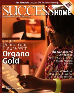 Success Magazine features Brett Shoemaker Diamond Leader With OrganoGold
