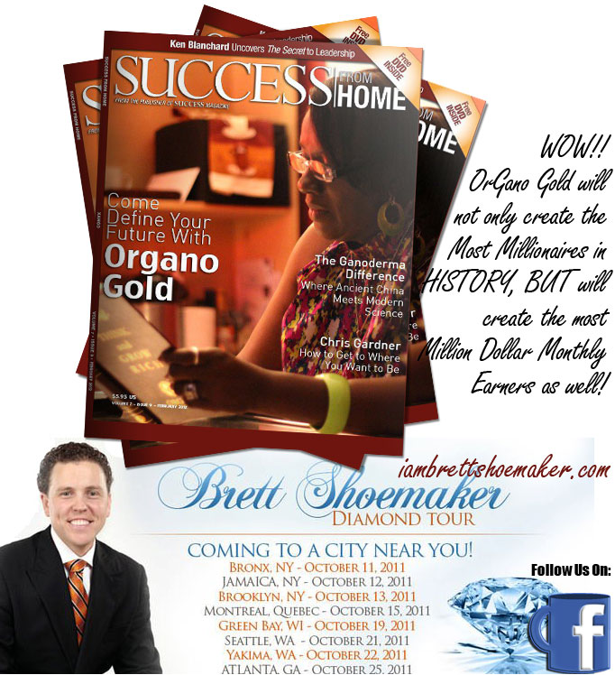 Success Magazine Features OrganoGold