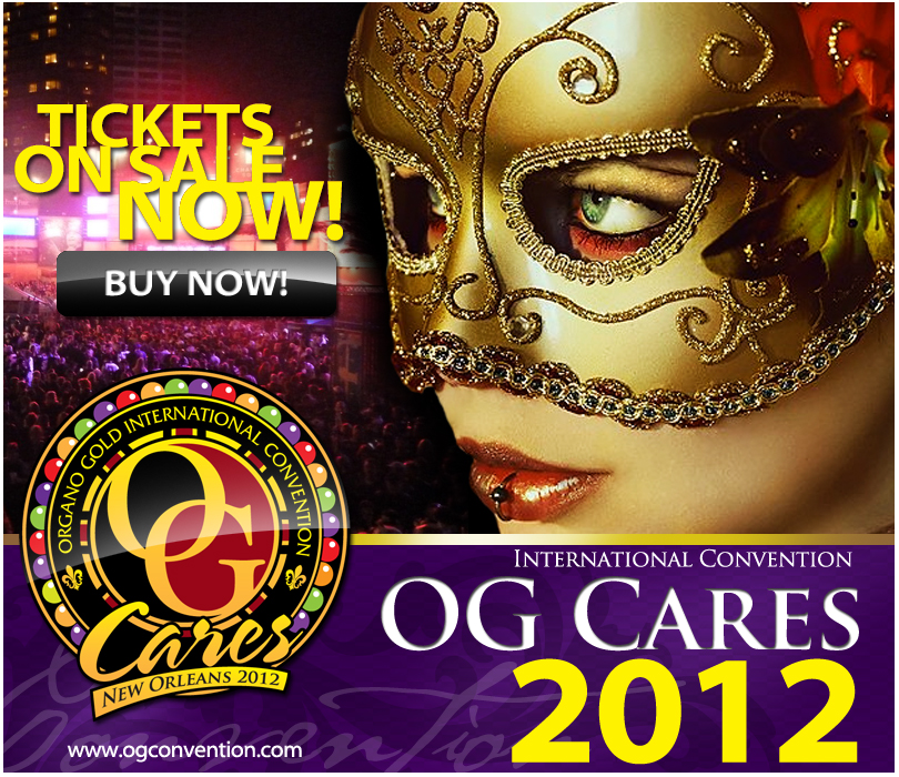 The City Of New Orleans Welcomes Organo Gold Cares!